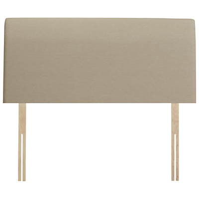John Lewis Natural Collection Bedford Strut Headboard, Pebble, Double