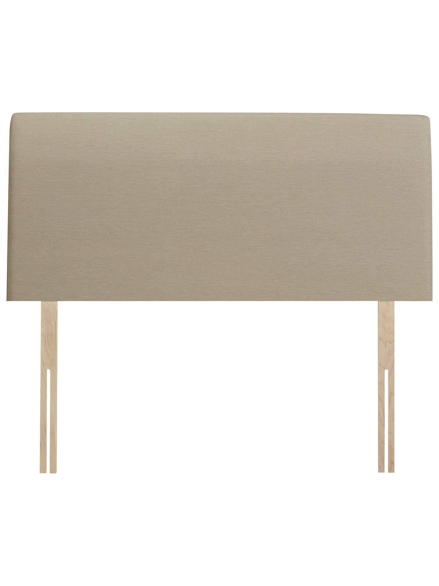 Buy John Lewis & Partners Natural Collection Bedford Strut Headboard, Pebble, Single Online at johnlewis.com
