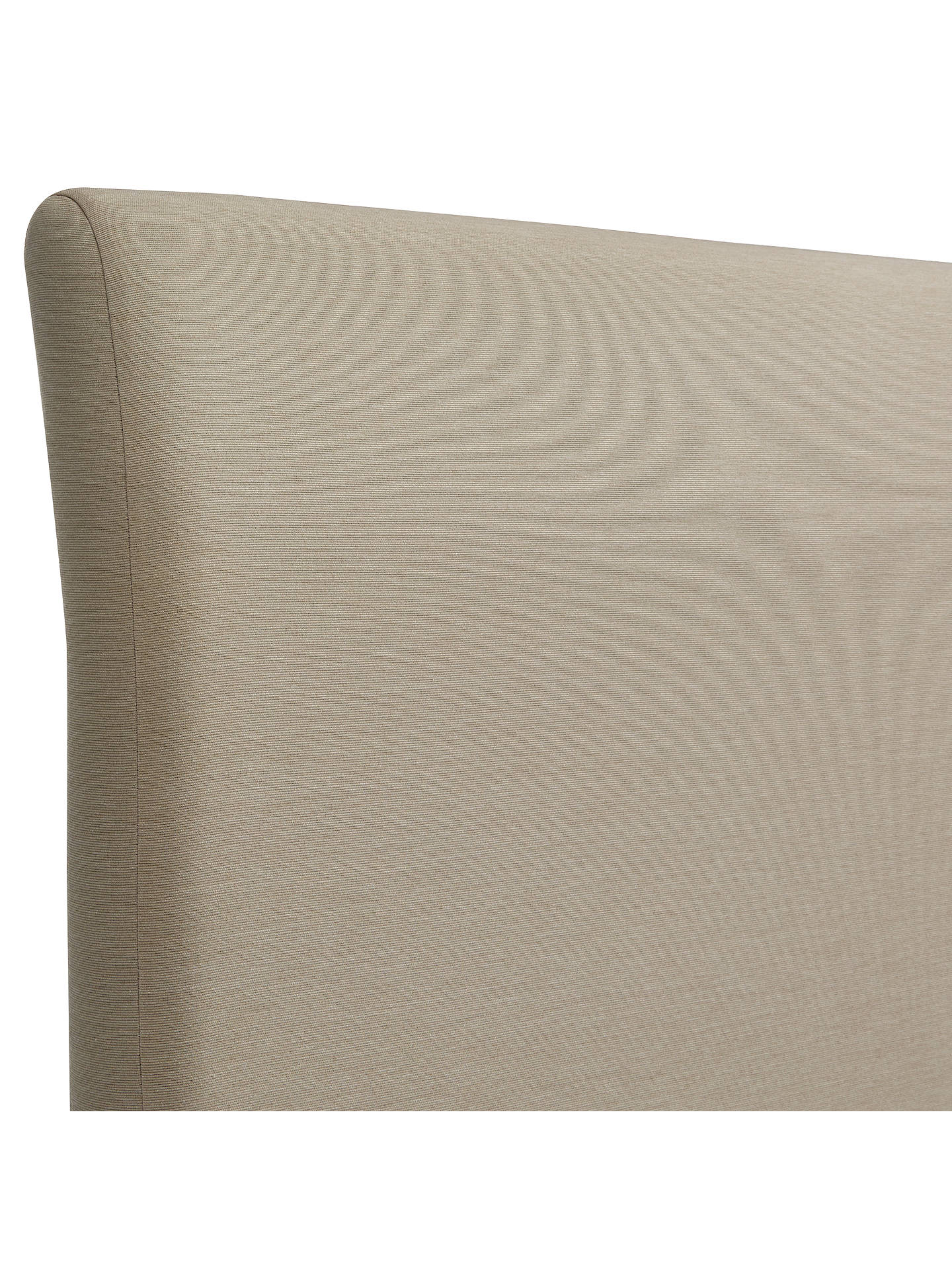 Buy John Lewis & Partners Natural Collection Bedford Strut Headboard, Pebble, Super King Size Online at johnlewis.com