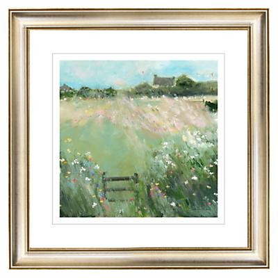 Sue Fenlon – Sprinkling of Wild Flowers Gilt Framed Print, 57 x 57cm