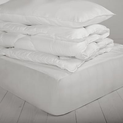 little home at John Lewis Hollowfibre Duvet, Pillow and Mattress Protector Set, 7 Tog