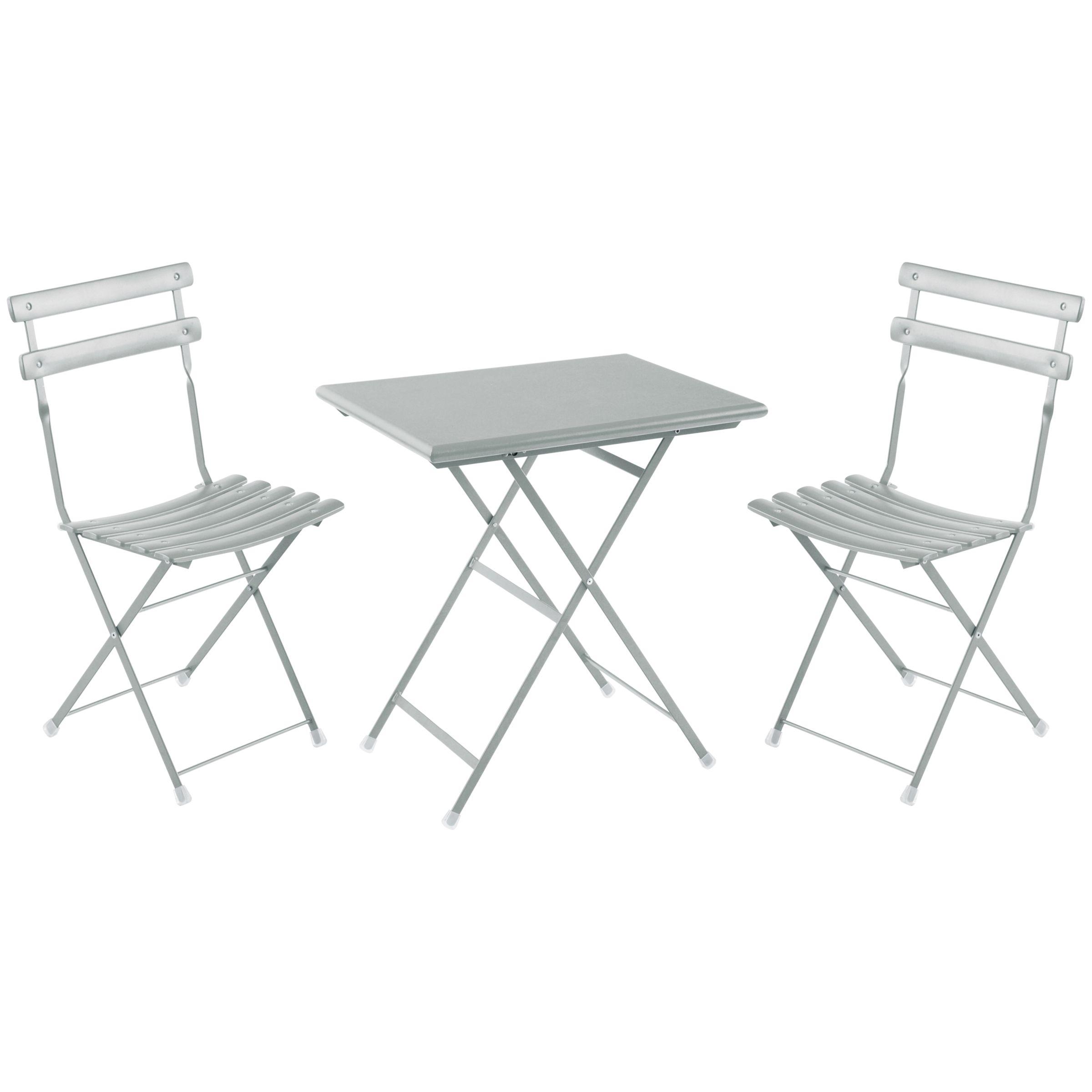 EMU EMU Arc En Ciel Steel Garden Bistro Table and Chairs Set