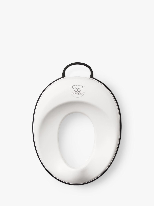 BabyBjorn BabyBjörn Toilet Trainer Seat, White/Black Trim