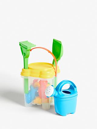 John Lewis & Partners Bucket and Spade Set