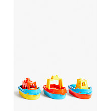 Buy John Lewis Boats in a Net, Pack of 3 Online at johnlewis.com