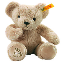 Buy Steiff My First Teddy Bear Online at johnlewis.com