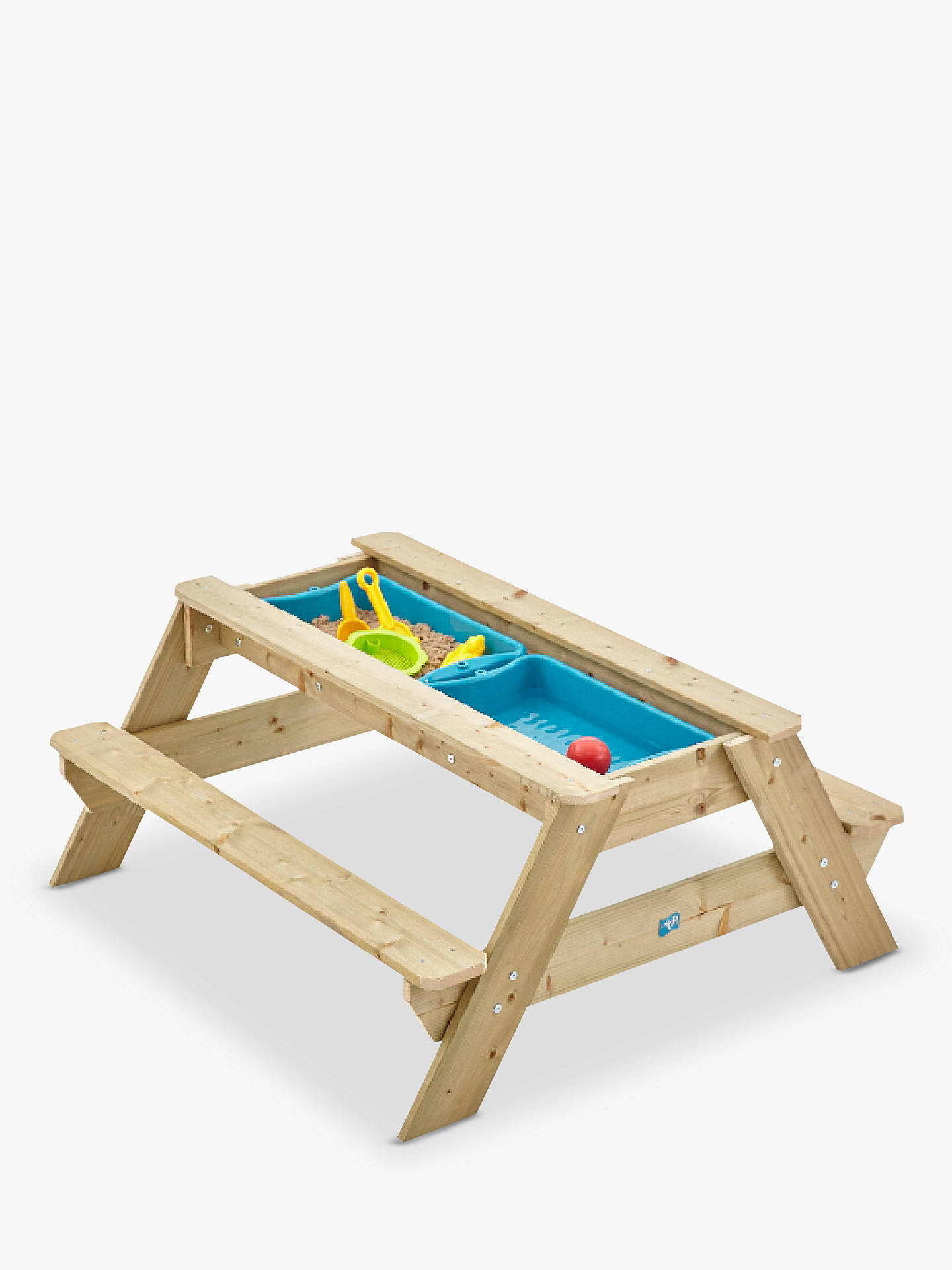 Sensational Tp Toys Tp286 Deluxe Picnic Table Sandpit Pabps2019 Chair Design Images Pabps2019Com