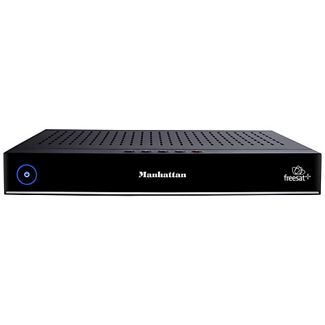 Buy Manhattan Plaza HDR-S Smart 320GB Freesat+ HD Digital Recorder Online at johnlewis.com
