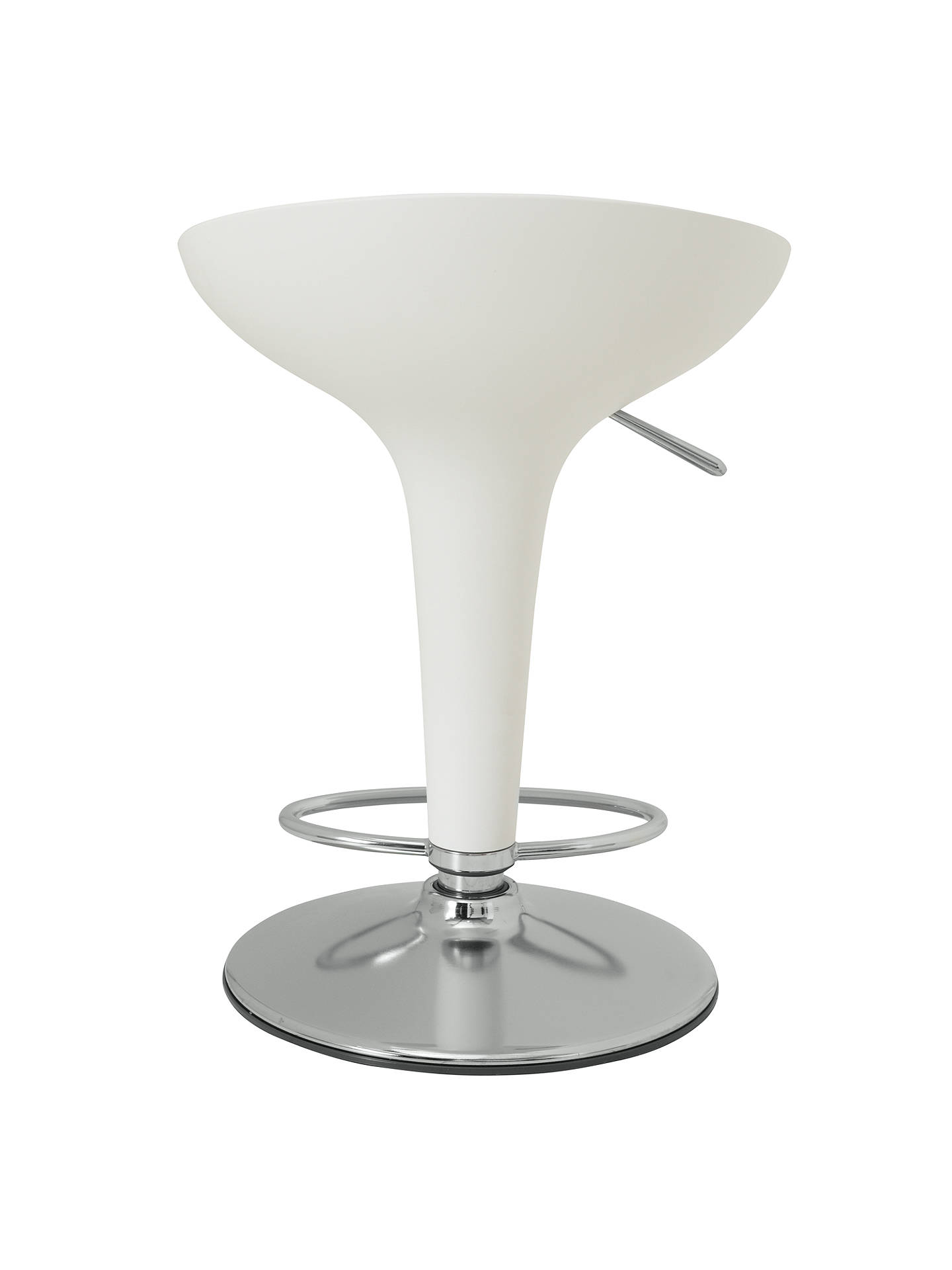 BuyMagis Bombo Bar Stool, White Online at johnlewis.com