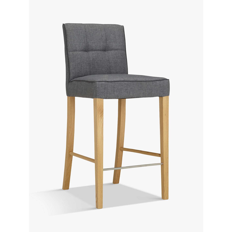 John Lewis Simone Bar Chair Grey At John Lewis