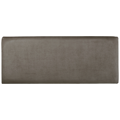 John Lewis Taunton Faux Suede Strutted Headboard, Single