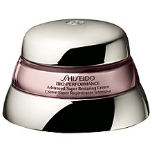 Buy Shiseido Bio-Performance Advanced Super Restoring Cream, 50ml Online at johnlewis.com