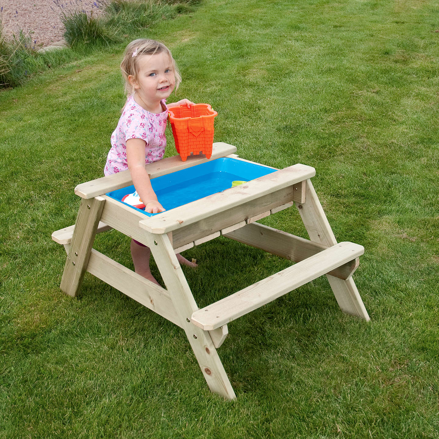 BuyTP Toys TP285 Early Fun Picnic Table Sandpit Online at johnlewis.com