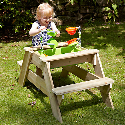 Buy TP Toys TP285 Early Fun Picnic Table Sandpit Online at johnlewis.com