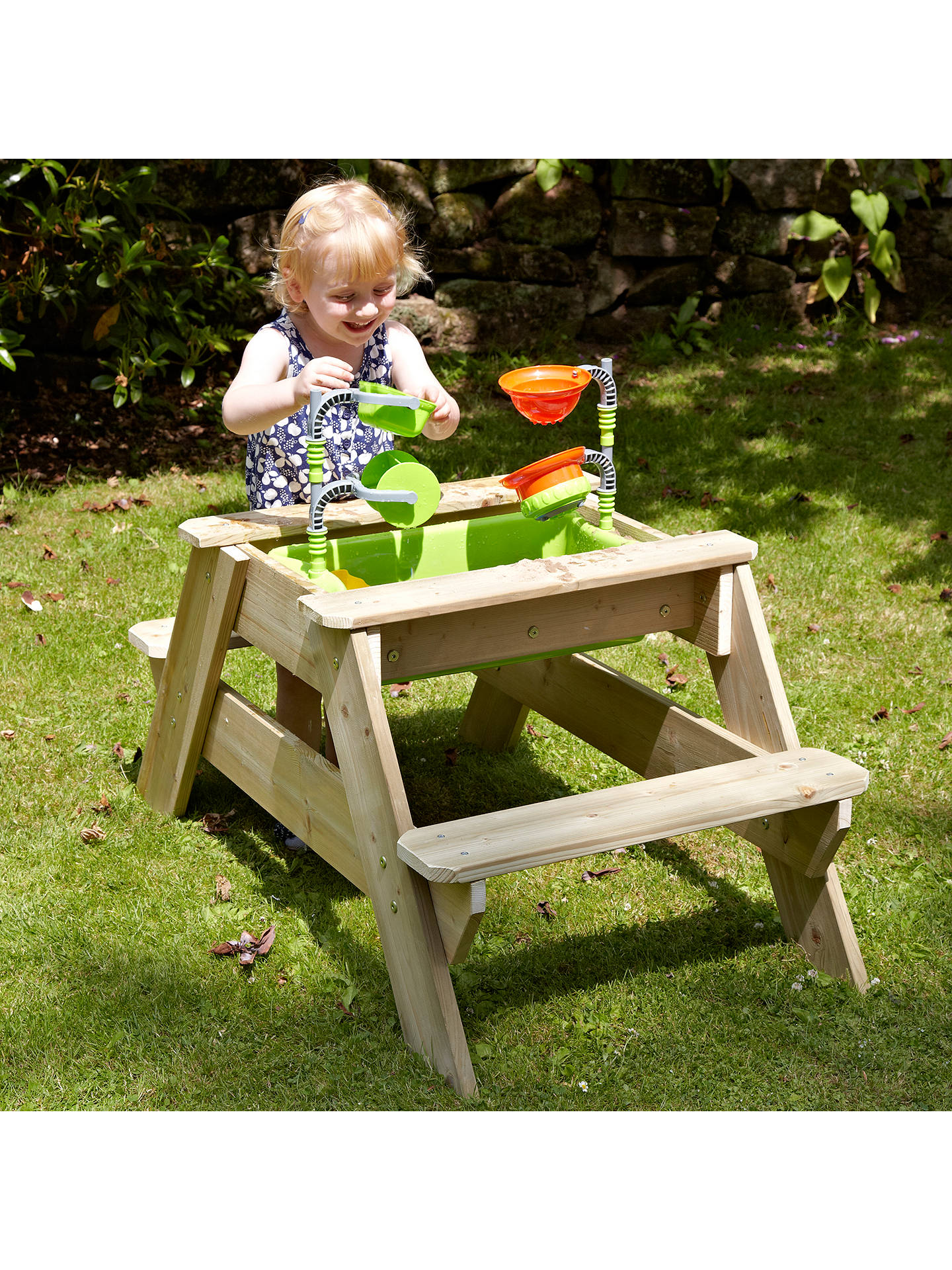 Peachy Tp Toys Tp285 Early Fun Picnic Table Sandpit Pabps2019 Chair Design Images Pabps2019Com