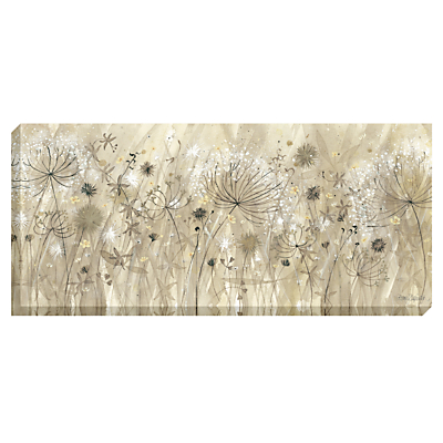 Catherine Stephenson – Neutral Floral Pods Print on Canvas, 60 x 135cm