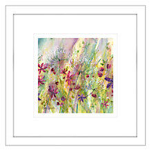 Buy Catherine Stephenson - Summertime Meadow 1 Framed Print, 44 x 44cm Online at johnlewis.com