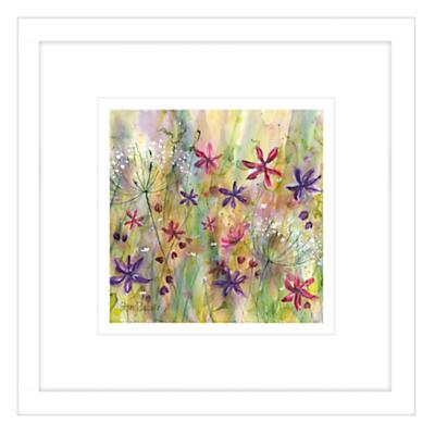 Catherine Stephenson – Summertime Meadow 2 Framed Print, 44 x 44cm
