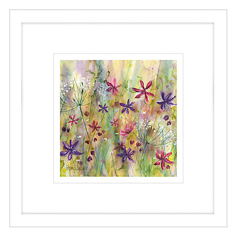 Buy Catherine Stephenson - Summertime Meadow 2 Framed Print, 44 x 44cm Online at johnlewis.com