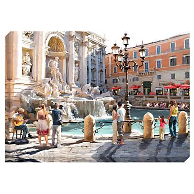 Richard Macneil – Trevi Fountain Print on Canvas, 70 x 100cm