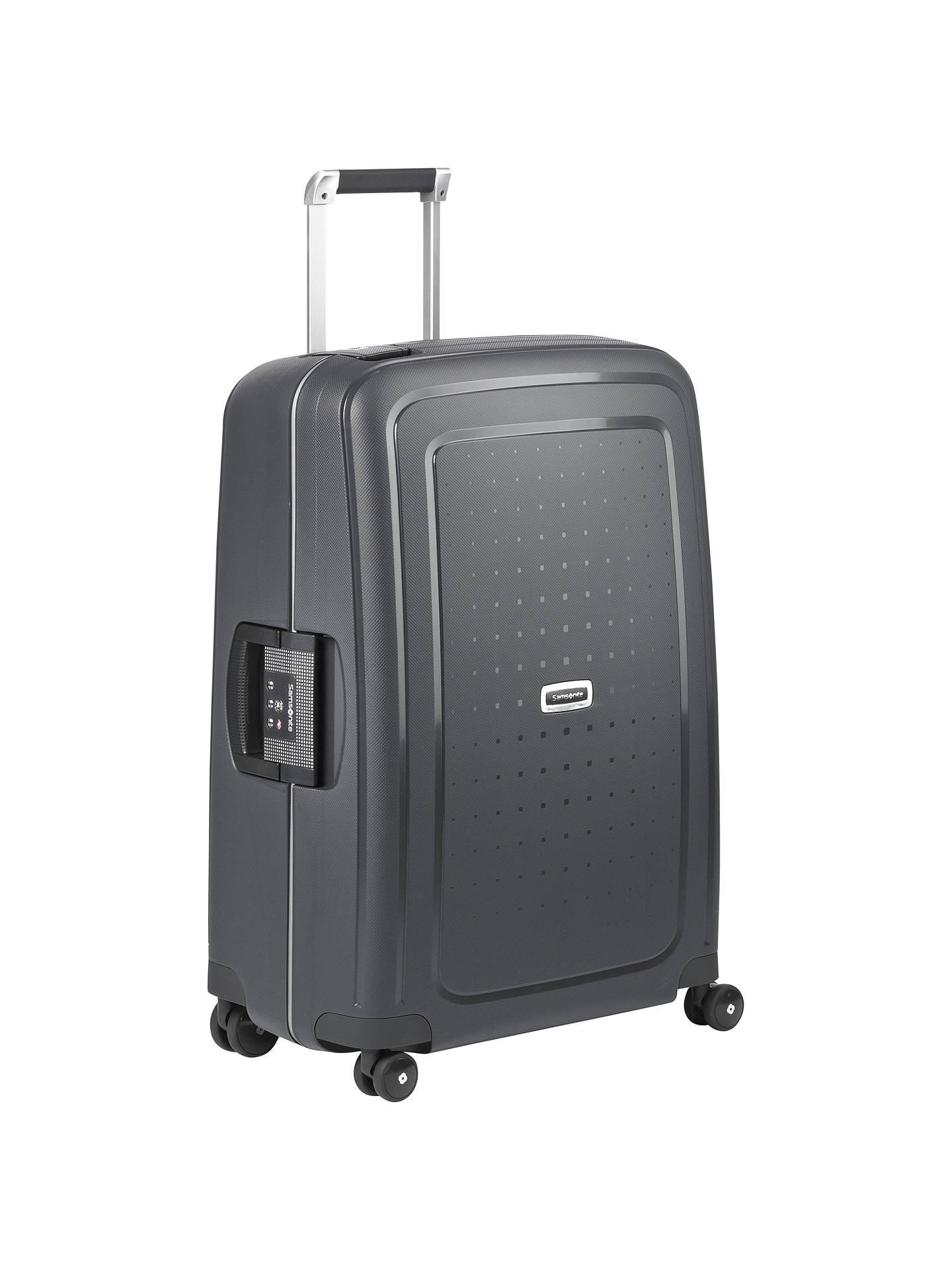85f267d23fb Buy Samsonite S'cure Delux 4-Wheel 69cm Medium Suitcase, Graphite Online at