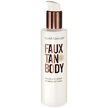 Buy bareMinerals Faux Tan Body Sunless Tanner, 177ml Online at johnlewis.com