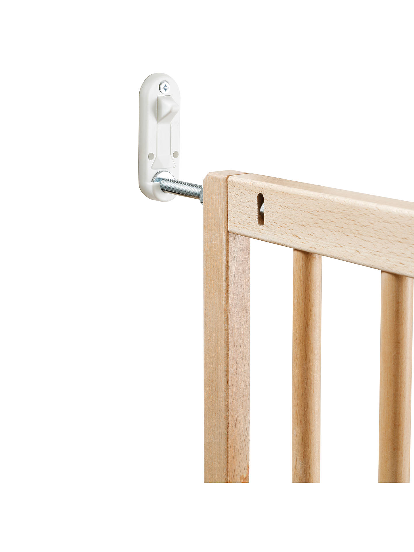 Babydan No Trip Wooden Baby Stair Gate At John Lewis Partners