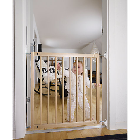 Buy BabyDan No Trip Wooden Baby Stair Gate Online at johnlewis.com