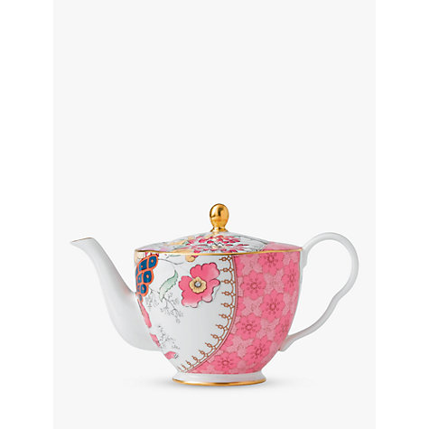 Buy Wedgwood Butterfly Bloom Teapot, Pink Online at johnlewis.com