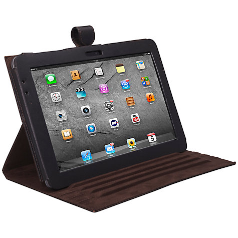 "Buy John Lewis Leather Book Case for Samsung Galaxy Tab 2 10.1"" Online at johnlewis.com"