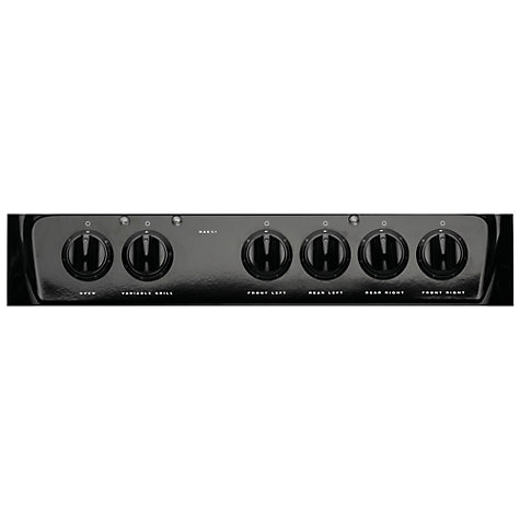 Buy Hotpoint HAE51KS Electric Cooker, Black Online at johnlewis.com