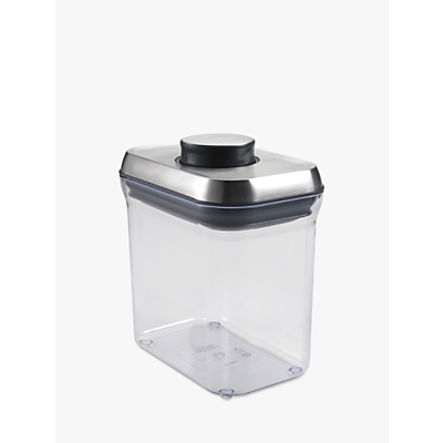 OXO Good Grips Rectangular POP Storage Container, Steel, 1.4L