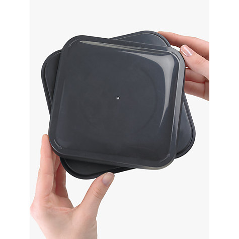 "Buy OXO Good Grips Square ""POP"" Storage Container, Steel, 2.3L Online at johnlewis.com"