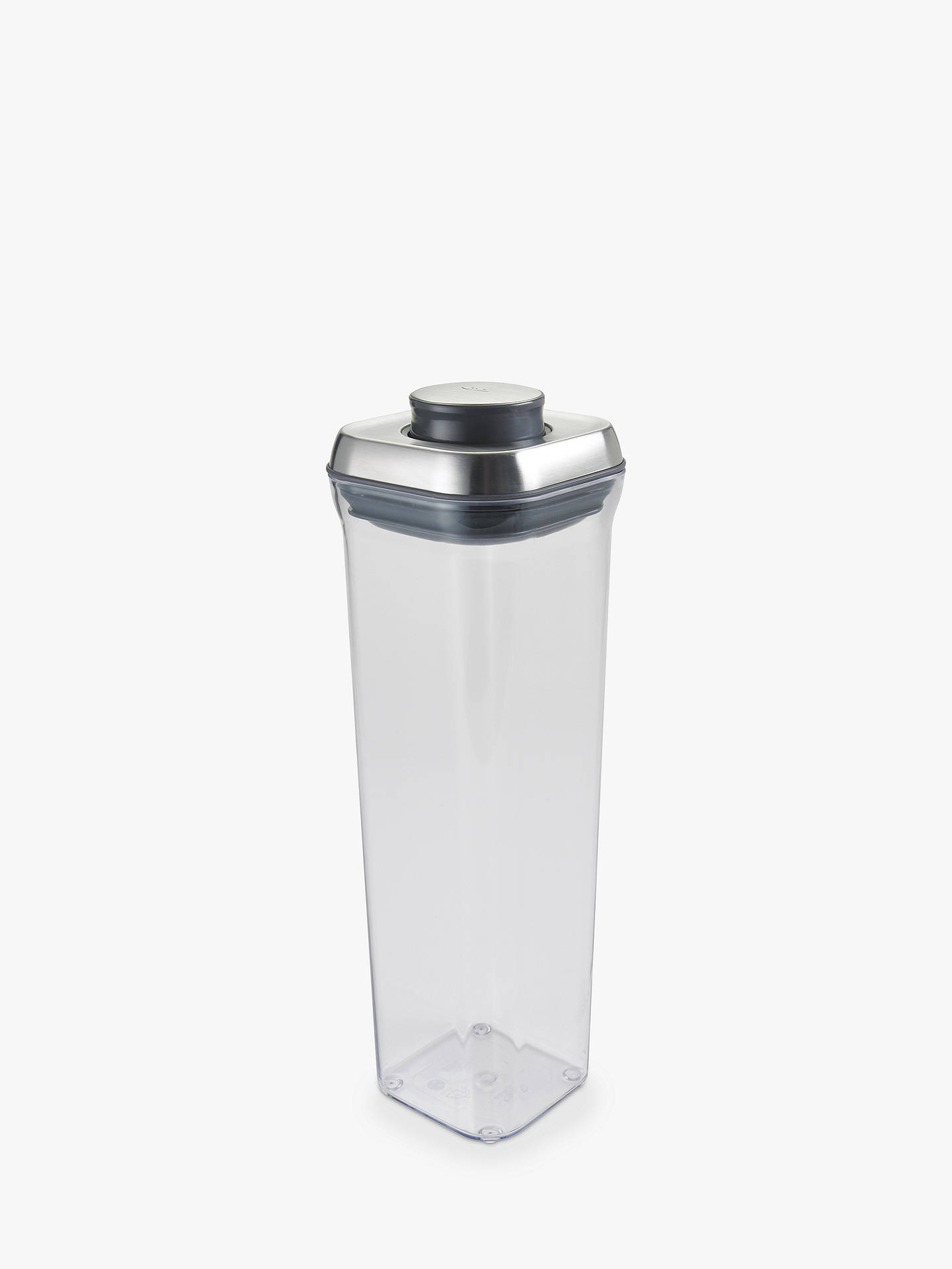 Oxo Good Grips Quot Pop Quot Spaghetti Container Steel 2l At