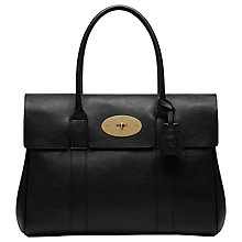 Buy Mulberry Bayswater Natural Veg Tanned Leather Grab Bag Online at johnlewis.com