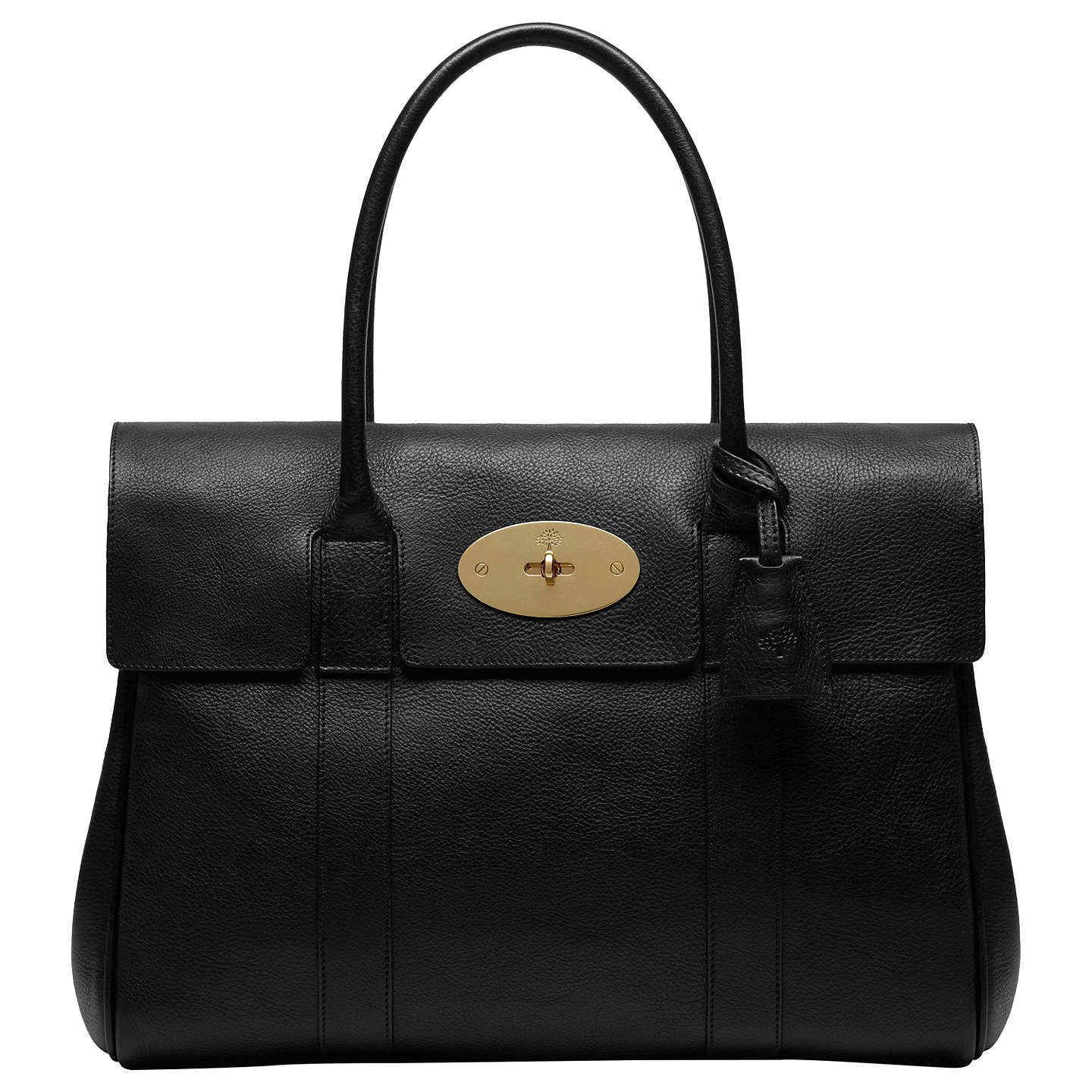 Mulberry Bayswater Natural Veg Tanned Leather Grab Bag At