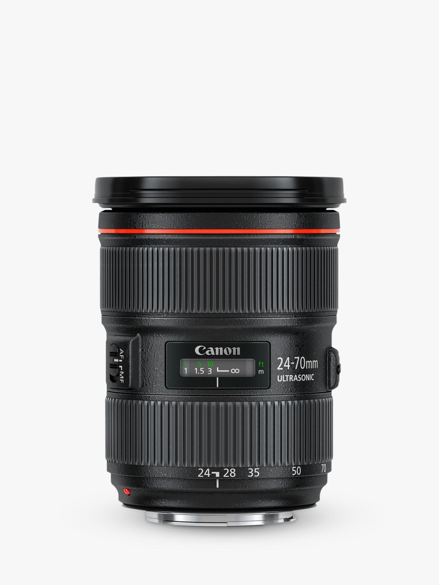Canon Ef 24 70mm F 28l Ii Usm Telephoto Lens At John Lewis Partners Lensa 70 200mm Is