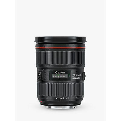 Image of Canon EF 24-70mm f/2.8L II USM Telephoto Lens