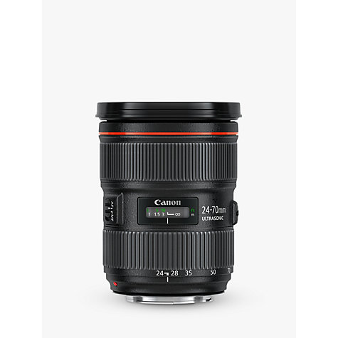 Buy Canon EF 24-70mm f/2.8L II USM Telephoto Lens Online at johnlewis.com