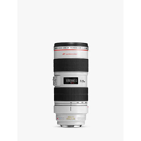 Buy Canon EF 70-200mm f/2.8L USM Telephoto Lens Online at johnlewis.com