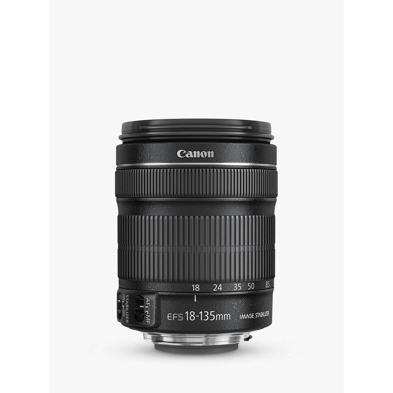 canon ef s 18 135mm f 3 5 5 6 is stm telephoto lens at john lewis. Black Bedroom Furniture Sets. Home Design Ideas