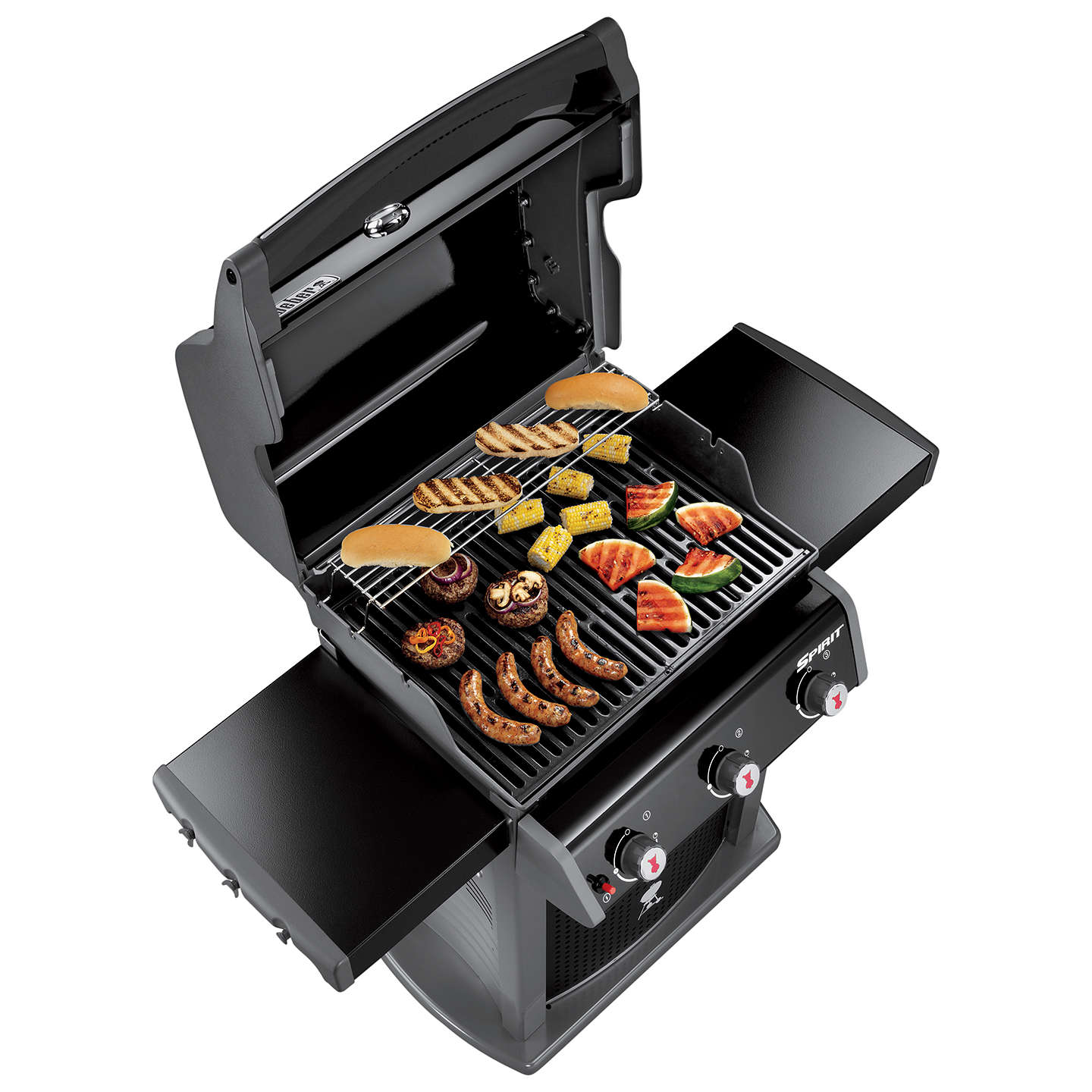 weber spirit classic e 310 3 burner gas bbq at john lewis. Black Bedroom Furniture Sets. Home Design Ideas