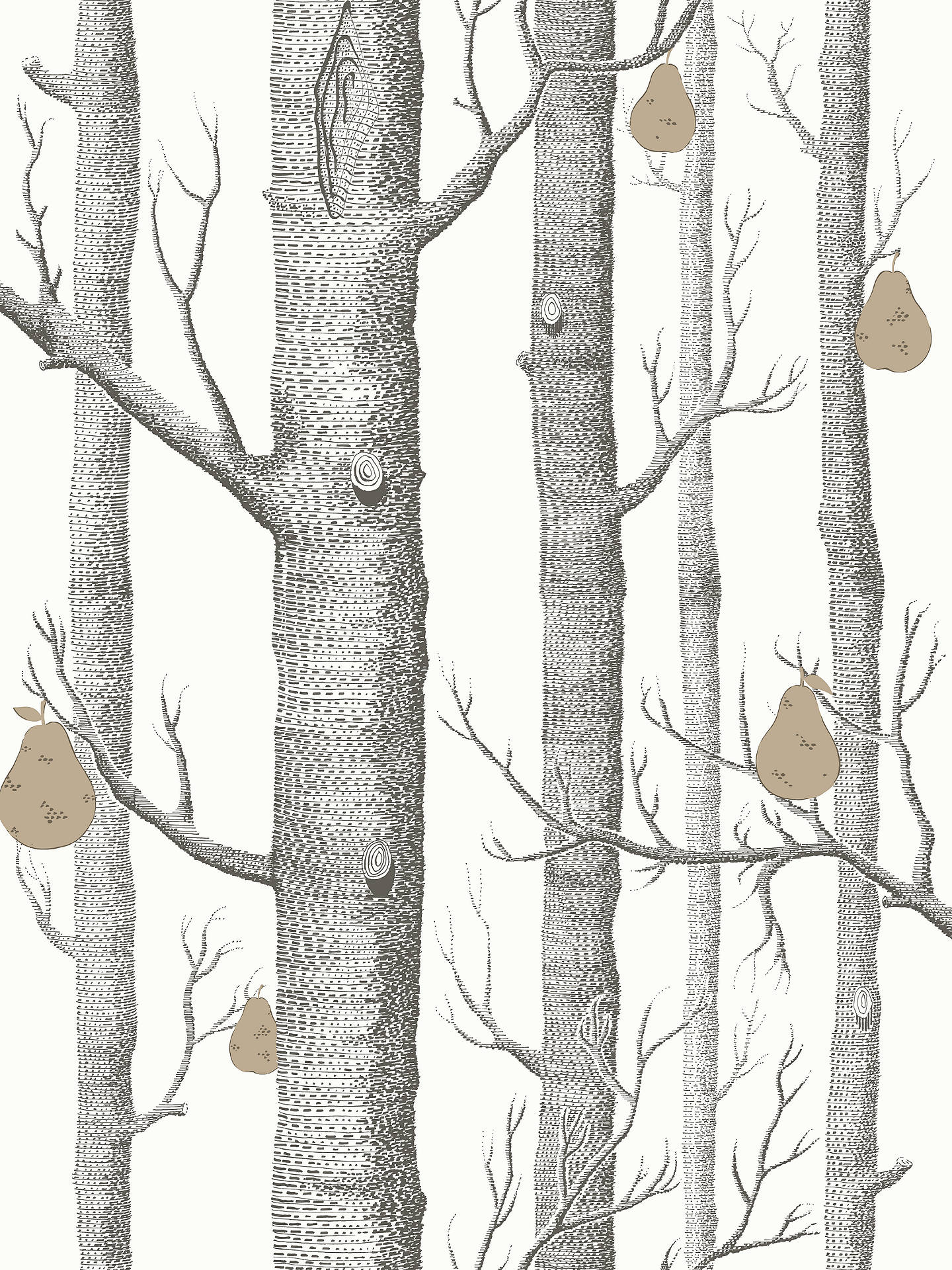 Cole & Son Woods And Pears Wallpaper at John Lewis & Partners