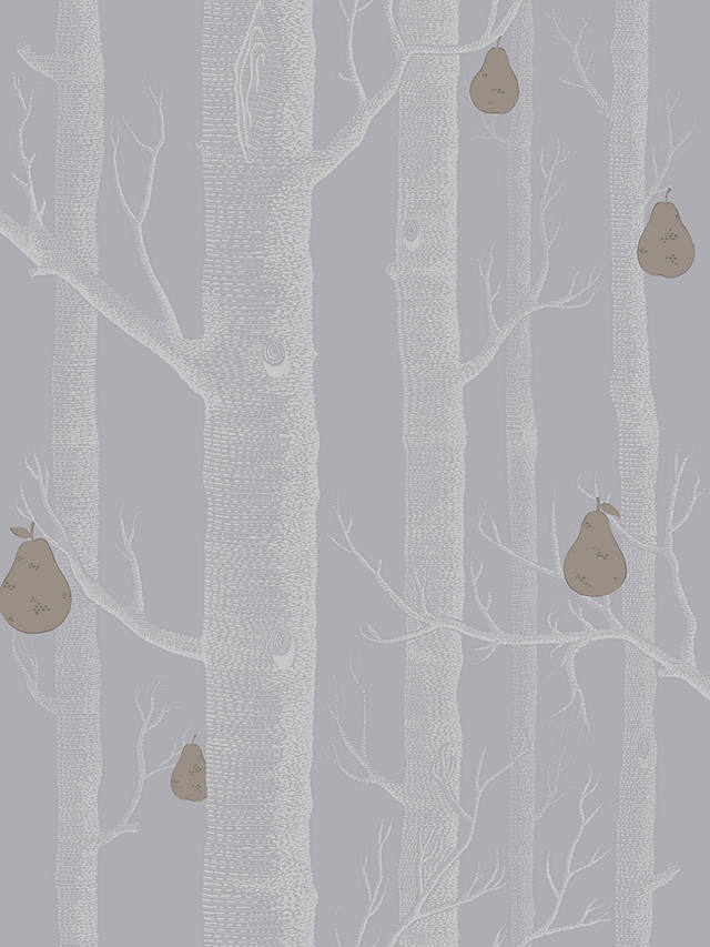 Buy Cole & Son Woods And Pears Wallpaper, Slate/Silver/Bronze, 95/5030 Online at johnlewis.com