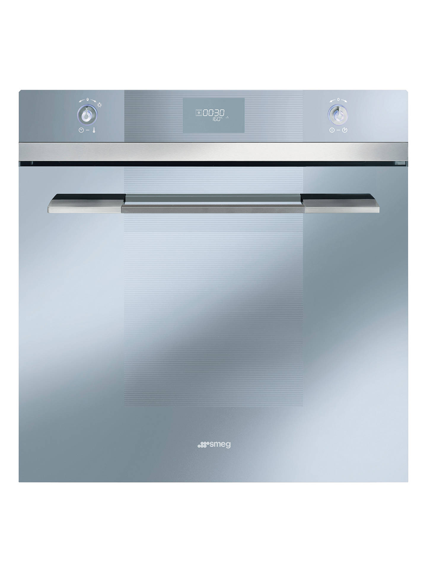 Smeg Sfp109s Single Electric Oven Silver Glass At John Lewis Partners How To Wire An Stove Outlet Doityourselfcom Community Buysmeg Online