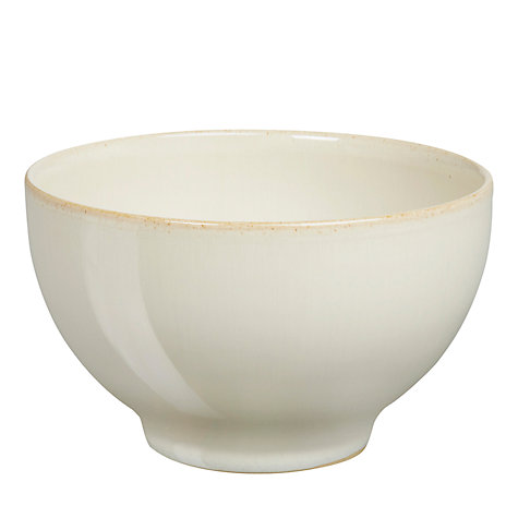 Buy Denby Linen Small Bowl, Dia.10.5cm, Natural Online at johnlewis.com