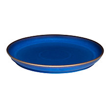 Buy Denby Imperial Blue Coupe 25cm Dinner Plate Online at johnlewis.com