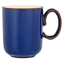Buy Denby Imperial Blue Straight Mug, Blue Online at johnlewis.com