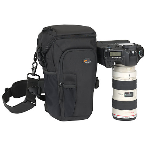 Buy Lowepro Toploader Pro 75 AW Camera Bag, Black Online at johnlewis.com