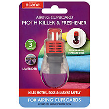 Buy Acana Airing Cupboard Moth Killer and Freshener Online at johnlewis.com